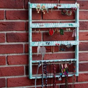 Shop Jewelry Organizers & Earring Racks! Jewelry Organizer Wall, Bedroom Wall Art, Wood Wall  Décor, Wall Mount Jewelry Organizer, Farmhouse Wall Décor, Wall Organizer, Beach Decor | Shop jewelry making and beading supplies, tools & findings for DIY jewelry making and crafts. #jewelrymaking #diyjewelry #jewelrycrafts #jewelrysupplies #beading #affiliate #ad