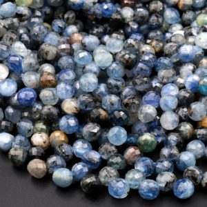 """Shop Kyanite Faceted Beads! Natural Multicolor Kyanite Faceted 6mm Rounded Teardrop Briolette Beads 15.5"""" Strand   Natural genuine faceted Kyanite beads for beading and jewelry making.  #jewelry #beads #beadedjewelry #diyjewelry #jewelrymaking #beadstore #beading #affiliate #ad"""