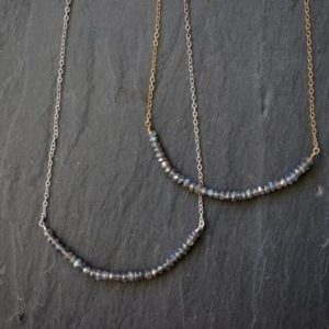 Shop Labradorite Necklaces! Labradorite Necklace / Silver Labradorite Necklace  / Gold Labradorite Necklace | Natural genuine Labradorite necklaces. Buy crystal jewelry, handmade handcrafted artisan jewelry for women.  Unique handmade gift ideas. #jewelry #beadednecklaces #beadedjewelry #gift #shopping #handmadejewelry #fashion #style #product #necklaces #affiliate #ad