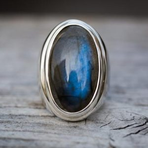 Shop Labradorite Rings! Labradorite Ring 9 – Large Labradorite Ring Size 9 – Labradorite Ring Sterling Silver Labradorite Sterling Siver Labradorite Ring Size 9 | Natural genuine Labradorite rings, simple unique handcrafted gemstone rings. #rings #jewelry #shopping #gift #handmade #fashion #style #affiliate #ad