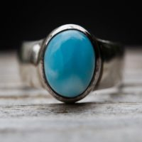 Larimar Ring Size 7 – Larimar Ring – Larimar Ring – Blue Pectolite Ring – Genuine Larimar Size 7 Larimar Ring – Larimar Jewelry – Larimar   Natural genuine Gemstone jewelry. Buy crystal jewelry, handmade handcrafted artisan jewelry for women.  Unique handmade gift ideas. #jewelry #beadedjewelry #beadedjewelry #gift #shopping #handmadejewelry #fashion #style #product #jewelry #affiliate #ad