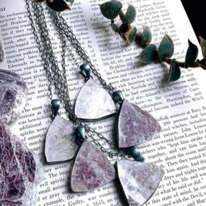 Shop Lepidolite Necklaces! Lepidolite necklace | Natural genuine Lepidolite necklaces. Buy crystal jewelry, handmade handcrafted artisan jewelry for women.  Unique handmade gift ideas. #jewelry #beadednecklaces #beadedjewelry #gift #shopping #handmadejewelry #fashion #style #product #necklaces #affiliate #ad