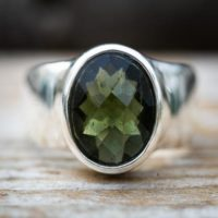 Moldavite Ring 8 – Moldavite Ring Size 8 Full Faceted Moldavite Ring 8 – Moldavite Ring Size 8 – Moldavite Ring – Moldavite Ring Size 8 | Natural genuine Gemstone jewelry. Buy crystal jewelry, handmade handcrafted artisan jewelry for women.  Unique handmade gift ideas. #jewelry #beadedjewelry #beadedjewelry #gift #shopping #handmadejewelry #fashion #style #product #jewelry #affiliate #ad