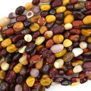 """Shop Mookaite Jasper Chip & Nugget Beads! 6mm – 10mm natural mookaite pebble nugget beads 15.5"""" strand mookite   Natural genuine chip Mookaite Jasper beads for beading and jewelry making.  #jewelry #beads #beadedjewelry #diyjewelry #jewelrymaking #beadstore #beading #affiliate #ad"""
