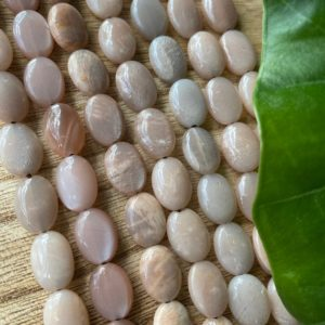 Shop Moonstone Bead Shapes! Peach moonstone  bead strand, gemstone beads | Natural genuine other-shape Moonstone beads for beading and jewelry making.  #jewelry #beads #beadedjewelry #diyjewelry #jewelrymaking #beadstore #beading #affiliate #ad
