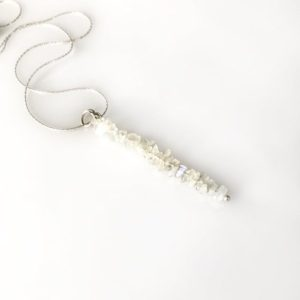 Shop Moonstone Pendants! Moonstone Crystal Gem Bar Necklace Fertility Gift anxiety Jewelry Moonstone Pendant | Natural genuine Moonstone pendants. Buy crystal jewelry, handmade handcrafted artisan jewelry for women.  Unique handmade gift ideas. #jewelry #beadedpendants #beadedjewelry #gift #shopping #handmadejewelry #fashion #style #product #pendants #affiliate #ad