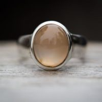 Moonstone Ring Size 5 – Peach True Moonstone Size 5 – Cat's Eye Orthoclase Moonstone Ring – Peach Moonstone Ring – Lovely Gemstone Ring 5   Natural genuine Gemstone jewelry. Buy crystal jewelry, handmade handcrafted artisan jewelry for women.  Unique handmade gift ideas. #jewelry #beadedjewelry #beadedjewelry #gift #shopping #handmadejewelry #fashion #style #product #jewelry #affiliate #ad