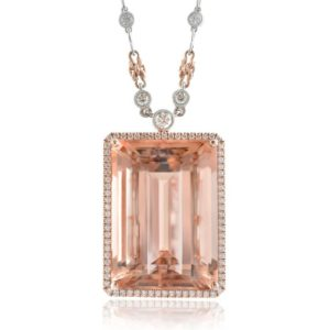 Shop Morganite Necklaces! Morganite Pendant, Natural Morganite, Morganite Necklace Rose Gold, Morganite Diamonds Necklace, Gemstone Jewelry, Custom Made Necklace   Natural genuine Morganite necklaces. Buy crystal jewelry, handmade handcrafted artisan jewelry for women.  Unique handmade gift ideas. #jewelry #beadednecklaces #beadedjewelry #gift #shopping #handmadejewelry #fashion #style #product #necklaces #affiliate #ad