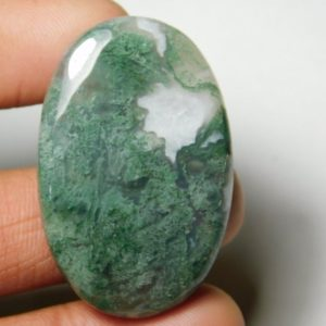 Shop Moss Agate Cabochons! Natural Moss agate Cabochons,Moss agate Gemstone,Moss agate Loose Stone,Moss agate Semi Precious,Moss agate jewelry Making  57Cts.41X27MM | Natural genuine stones & crystals in various shapes & sizes. Buy raw cut, tumbled, or polished gemstones for making jewelry or crystal healing energy vibration raising reiki stones. #crystals #gemstones #crystalhealing #crystalsandgemstones #energyhealing #affiliate #ad