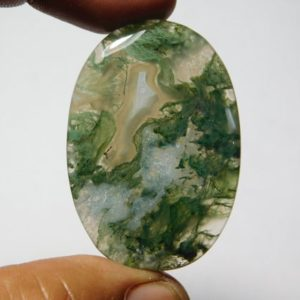 Shop Moss Agate Cabochons! Natural Moss agate Cabochons,Moss agate Gemstone,Moss agate Loose Stone,Moss agate Semi Precious,Moss agate jewelry Making  60Cts.42X29MM | Natural genuine stones & crystals in various shapes & sizes. Buy raw cut, tumbled, or polished gemstones for making jewelry or crystal healing energy vibration raising reiki stones. #crystals #gemstones #crystalhealing #crystalsandgemstones #energyhealing #affiliate #ad