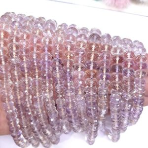 Shop Ametrine Round Beads! Natural Ametrine Round Faceted 7-8 mm size , AAA Quality Beads- 100% Natural Beads- Origin Bolivia (South America) – Ametrine Wholesale | Natural genuine round Ametrine beads for beading and jewelry making.  #jewelry #beads #beadedjewelry #diyjewelry #jewelrymaking #beadstore #beading #affiliate #ad