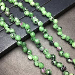 """Shop Ruby Zoisite Bead Shapes! Natural Ruby Zoisite Beads 6mm Teardrop Stone Loose Gemstone Spacer Beads for DIY Jewelry Making and Design 15.5"""" Full Strand Zoisite Beads   Natural genuine other-shape Ruby Zoisite beads for beading and jewelry making.  #jewelry #beads #beadedjewelry #diyjewelry #jewelrymaking #beadstore #beading #affiliate #ad"""