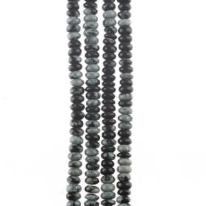 Shop Obsidian Rondelle Beads! Obsidian 8mm Rondelle Beads, Natural Precious Stones, Diy Jewelry, Natural Obsidian Beads, Jewellery Making, Gemstones Beads | Natural genuine rondelle Obsidian beads for beading and jewelry making.  #jewelry #beads #beadedjewelry #diyjewelry #jewelrymaking #beadstore #beading #affiliate #ad