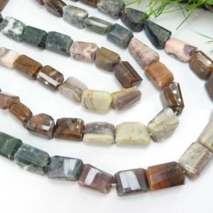 Shop Ocean Jasper Chip & Nugget Beads! Ocean Jasper Faceted 13 Inch Tumble,Nugget,Loose Stone,Handmade 17X11To11X11MM Approx Wholesale Price New Arrival (BSJ)TU5 | Natural genuine chip Ocean Jasper beads for beading and jewelry making.  #jewelry #beads #beadedjewelry #diyjewelry #jewelrymaking #beadstore #beading #affiliate #ad
