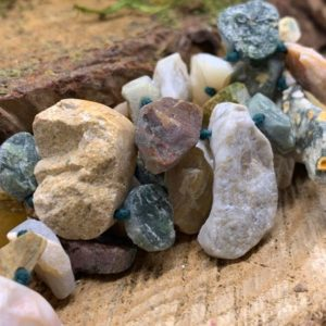 Shop Raw & Rough Ocean Jasper Stones! Ocean Jasper Free Form, Rough, Top-Drilled 12×16-13x18mm Teardrop – 15 Inch | Natural genuine stones & crystals in various shapes & sizes. Buy raw cut, tumbled, or polished gemstones for making jewelry or crystal healing energy vibration raising reiki stones. #crystals #gemstones #crystalhealing #crystalsandgemstones #energyhealing #affiliate #ad