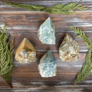 Shop Onyx Points & Wands! Blue Onyx Crystal Top Polished Points | Natural genuine stones & crystals in various shapes & sizes. Buy raw cut, tumbled, or polished gemstones for making jewelry or crystal healing energy vibration raising reiki stones. #crystals #gemstones #crystalhealing #crystalsandgemstones #energyhealing #affiliate #ad
