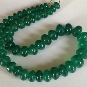 Shop Onyx Rondelle Beads! 6-11mm Green Onyx Plain Rondlles, Natural Green Onyx Plain Button Rondelle Beads, Green Onyx For Jewelry (25pcs To 50pcs Options) – Ang25   Natural genuine rondelle Onyx beads for beading and jewelry making.  #jewelry #beads #beadedjewelry #diyjewelry #jewelrymaking #beadstore #beading #affiliate #ad