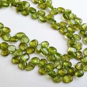 Shop Peridot Bead Shapes! 6mm Peridot Plain Heart Beads, Natural Green Peridot Plain Heart Side Drilled Beads, 13 In Peridot For Necklace, Peridot For Jewlery – Ant72 | Natural genuine other-shape Peridot beads for beading and jewelry making.  #jewelry #beads #beadedjewelry #diyjewelry #jewelrymaking #beadstore #beading #affiliate #ad