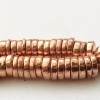 6mm Copper Pyrite Tyre Beads, Copper Pyrite Plain Spacer Beads, Copper Pyrite For Necklace, Copper Gems (7in To 14in Options) – Agp192 | Natural genuine Gemstone jewelry. Buy crystal jewelry, handmade handcrafted artisan jewelry for women.  Unique handmade gift ideas. #jewelry #beadedjewelry #beadedjewelry #gift #shopping #handmadejewelry #fashion #style #product #jewelry #affiliate #ad