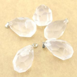 Shop Quartz Crystal Faceted Beads! 1pcs Huge Natural Rock Crystal  Quartz  pear drop faceted pendant ,pendulum point,Clear Crystal  Quartz pendant,Clear Quartz pendant   Natural genuine faceted Quartz beads for beading and jewelry making.  #jewelry #beads #beadedjewelry #diyjewelry #jewelrymaking #beadstore #beading #affiliate #ad