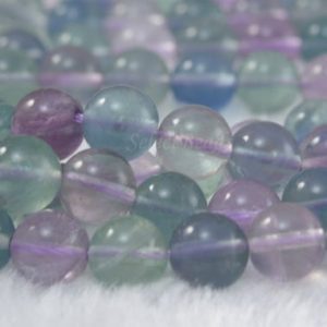 rainbow fluorite beads – natural fluorite gemstone beads – multi color stone beads – fluorite round beads – 6-8mm round beads – 15inch | Natural genuine round Gemstone beads for beading and jewelry making.  #jewelry #beads #beadedjewelry #diyjewelry #jewelrymaking #beadstore #beading #affiliate #ad