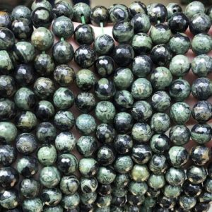 """Shop Rainforest Jasper Beads! Natural Faceted Birdseye Rhyolite Smooth Round Beads,4mm 6mm 8mm 10mm 12mm Birdseye Rhyolite beads Wholesale Supply,one strand 15"""" 