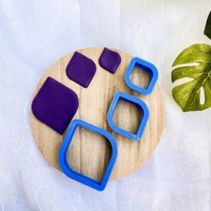 Shop Polymer Clay Cutters & Jewelry Making Tools! Rounded Diamond Shape Cutter | Polymer Clay Cutters | Diamond Clay Cutters | Clay Cutter Set | Jewelry Making Cutters | Shop jewelry making and beading supplies, tools & findings for DIY jewelry making and crafts. #jewelrymaking #diyjewelry #jewelrycrafts #jewelrysupplies #beading #affiliate #ad