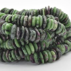 """Shop Ruby Zoisite Chip & Nugget Beads! High Quality Grade A Natural Ruby Zoisite Semi-precious Gemstone Chunky Chips / Nuggets Beads – 8mm – 15mm X 1mm – 6mm – 15.5"""" Strand   Natural genuine chip Ruby Zoisite beads for beading and jewelry making.  #jewelry #beads #beadedjewelry #diyjewelry #jewelrymaking #beadstore #beading #affiliate #ad"""