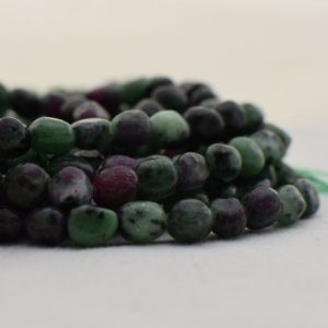 """Shop Ruby Zoisite Chip & Nugget Beads! High Quality Grade A Natural Ruby Zoisite Semi-Precious Gemstone Tumbled Stone Nugget Pebble Beads – approx 5mm – 8mm – 15.5"""" strand   Natural genuine chip Ruby Zoisite beads for beading and jewelry making.  #jewelry #beads #beadedjewelry #diyjewelry #jewelrymaking #beadstore #beading #affiliate #ad"""