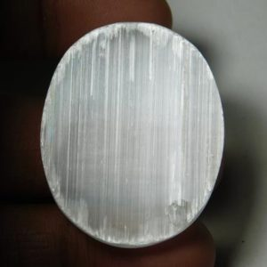 Shop Selenite Cabochons! Classic!! Natural Druzy Selenite Cabochons,Druzy Selenite Gemstone,Druzy Selenite  Loose Stone,Druzy Selenite Semi Precious  65Cts.38X30MM | Natural genuine stones & crystals in various shapes & sizes. Buy raw cut, tumbled, or polished gemstones for making jewelry or crystal healing energy vibration raising reiki stones. #crystals #gemstones #crystalhealing #crystalsandgemstones #energyhealing #affiliate #ad