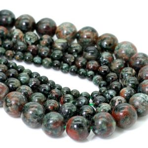 Shop Serpentine Round Beads! Natural Serpentine, Russian Serpentine Smooth Round Sphere Loose Gemstone Beads – RN133   Natural genuine round Serpentine beads for beading and jewelry making.  #jewelry #beads #beadedjewelry #diyjewelry #jewelrymaking #beadstore #beading #affiliate #ad