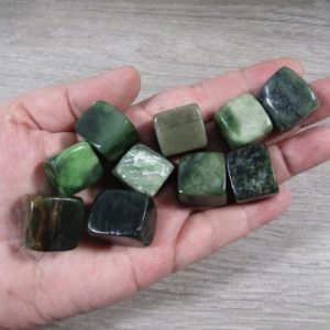 Shop Serpentine Stones & Crystals! Serpentine Medium Tumbled Stone T515 | Natural genuine stones & crystals in various shapes & sizes. Buy raw cut, tumbled, or polished gemstones for making jewelry or crystal healing energy vibration raising reiki stones. #crystals #gemstones #crystalhealing #crystalsandgemstones #energyhealing #affiliate #ad