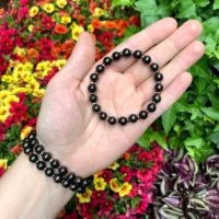 Rare Shungite Bracelet – Copper – Stretch Bracelets – Grounding Bracelets – Gemstone Bracelets – Healing Bracelets – Beaded Bracelet | Natural genuine Gemstone jewelry. Buy crystal jewelry, handmade handcrafted artisan jewelry for women.  Unique handmade gift ideas. #jewelry #beadedjewelry #beadedjewelry #gift #shopping #handmadejewelry #fashion #style #product #jewelry #affiliate #ad