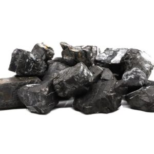 Shop Raw & Rough Shungite Stones! Petrovsky Shungite – Raw Shungite, Water Purification, EMF Protection   Natural genuine stones & crystals in various shapes & sizes. Buy raw cut, tumbled, or polished gemstones for making jewelry or crystal healing energy vibration raising reiki stones. #crystals #gemstones #crystalhealing #crystalsandgemstones #energyhealing #affiliate #ad