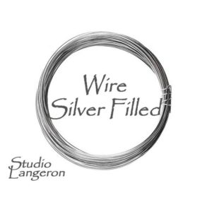 Shop Wire! Silver filled copper wire Half-Hard thickness 30, 28, 26, 24, 22, 20, 18, 16 GA, Wire Wrapping, Jewelry making, Wire – 1 meter (3.30 ft) | Shop jewelry making and beading supplies, tools & findings for DIY jewelry making and crafts. #jewelrymaking #diyjewelry #jewelrycrafts #jewelrysupplies #beading #affiliate #ad