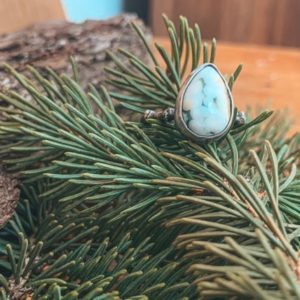 Shop Ocean Jasper Rings! Silver Twig Ocean Jasper Ring, US Size 6, Stacker Ring, Nature Jewelry, Silver Twig Ring, Sterling Silver Ring, Adk Jewelry, Gift for hiker | Natural genuine Ocean Jasper rings, simple unique handcrafted gemstone rings. #rings #jewelry #shopping #gift #handmade #fashion #style #affiliate #ad