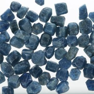 Shop Sapphire Stones & Crystals! Small Raw Sapphire Pieces, Rough Sapphire, Genuine Uncut Sapphire Crystal, September Birthstone, Healing Crystal, Rough Gemstone, SSapph001 | Natural genuine stones & crystals in various shapes & sizes. Buy raw cut, tumbled, or polished gemstones for making jewelry or crystal healing energy vibration raising reiki stones. #crystals #gemstones #crystalhealing #crystalsandgemstones #energyhealing #affiliate #ad