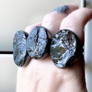 Shop Smoky Quartz Rings! Raw Smoky quartz ring, statement ring   Natural genuine Smoky Quartz rings, simple unique handcrafted gemstone rings. #rings #jewelry #shopping #gift #handmade #fashion #style #affiliate #ad