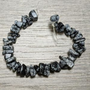 Shop Snowflake Obsidian Chip & Nugget Beads! Snowflake Obsidian Chips • Various Shaped  Black Grey Beads • Jewelry Making • 6 inch Strand • Approximately 40 Nuggets • Unique Shape Color | Natural genuine chip Snowflake Obsidian beads for beading and jewelry making.  #jewelry #beads #beadedjewelry #diyjewelry #jewelrymaking #beadstore #beading #affiliate #ad