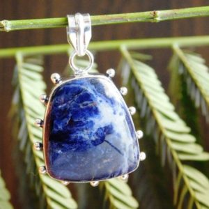 Shop Sodalite Pendants! Blue Sodalite Pendant,Sodalite Gemstone Pendant,sterling Silver Pendant,Sodalite jewelry Pendant,blue stone pendant,Handmade Pendant,(P-273) | Natural genuine Sodalite pendants. Buy crystal jewelry, handmade handcrafted artisan jewelry for women.  Unique handmade gift ideas. #jewelry #beadedpendants #beadedjewelry #gift #shopping #handmadejewelry #fashion #style #product #pendants #affiliate #ad