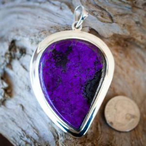 Shop Sugilite Pendants! Sugilite pendant – Sugilite and Manganese Pendant – Gorgeous Purple Sugilite Jewelry – Sugilite Silver Pendant – Sugilite Manganese necklace | Natural genuine Sugilite pendants. Buy crystal jewelry, handmade handcrafted artisan jewelry for women.  Unique handmade gift ideas. #jewelry #beadedpendants #beadedjewelry #gift #shopping #handmadejewelry #fashion #style #product #pendants #affiliate #ad
