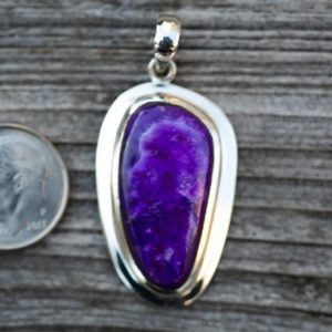 Shop Sugilite Pendants! Sugilite pendant – Stunning Sugilite and Sterling Silver – Gorgeous Purple Sugilite Jewelry – Sugilite Silver Pendant – Sugilite necklace | Natural genuine Sugilite pendants. Buy crystal jewelry, handmade handcrafted artisan jewelry for women.  Unique handmade gift ideas. #jewelry #beadedpendants #beadedjewelry #gift #shopping #handmadejewelry #fashion #style #product #pendants #affiliate #ad