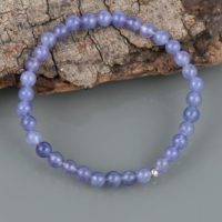 Natural Tanzanite Bracelet Smooth Round Tanzanite Bracelet Tanzanite Beads Jewelry Beautiful Tanzanite Bracelet Handmade Jewelry | Natural genuine Gemstone jewelry. Buy crystal jewelry, handmade handcrafted artisan jewelry for women.  Unique handmade gift ideas. #jewelry #beadedjewelry #beadedjewelry #gift #shopping #handmadejewelry #fashion #style #product #jewelry #affiliate #ad