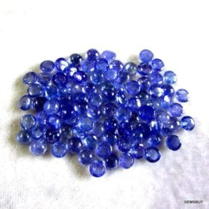 Shop Tanzanite Stones & Crystals! 10 Pieces 5mm Tanzanite Cabochon Round Loose Gemstone, Blue Tanzanite Round Cabochon Gemstone, Tanzanite Cabochon Loose Gemstone | Natural genuine stones & crystals in various shapes & sizes. Buy raw cut, tumbled, or polished gemstones for making jewelry or crystal healing energy vibration raising reiki stones. #crystals #gemstones #crystalhealing #crystalsandgemstones #energyhealing #affiliate #ad