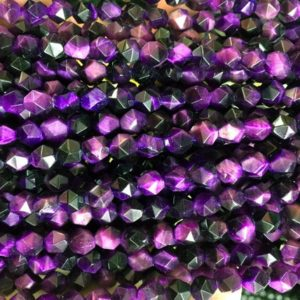 Shop Tiger Eye Necklaces! purple tigers eye diamond shape beads – wholesale jewelry supplies – necklace making supplies – wholesale gemstone beads -15inch | Natural genuine Tiger Eye necklaces. Buy crystal jewelry, handmade handcrafted artisan jewelry for women.  Unique handmade gift ideas. #jewelry #beadednecklaces #beadedjewelry #gift #shopping #handmadejewelry #fashion #style #product #necklaces #affiliate #ad