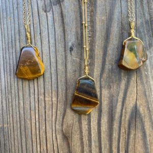 Shop Tiger Eye Pendants! Chakra Jewelry / Tigers Eye Necklace / Tigers Eye Pendant / Tigers Eye Jewelry / Reiki Jewelry / Stone of Protection / Gold Filled | Natural genuine Tiger Eye pendants. Buy crystal jewelry, handmade handcrafted artisan jewelry for women.  Unique handmade gift ideas. #jewelry #beadedpendants #beadedjewelry #gift #shopping #handmadejewelry #fashion #style #product #pendants #affiliate #ad