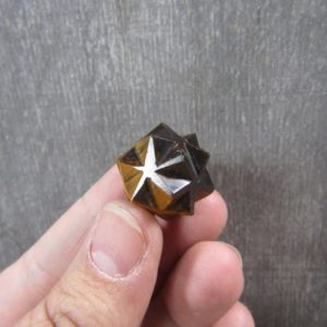 Shop Tiger Eye Points & Wands! Tiger Eye 20 point Stone Merkaba M 205 | Natural genuine stones & crystals in various shapes & sizes. Buy raw cut, tumbled, or polished gemstones for making jewelry or crystal healing energy vibration raising reiki stones. #crystals #gemstones #crystalhealing #crystalsandgemstones #energyhealing #affiliate #ad