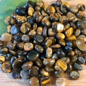 Shop Tumbled Tiger Eye Crystals & Pocket Stones! Tigers eye Tumbled Chips Gift Bag jewelry making crafts crafting roller ball bottle | Natural genuine stones & crystals in various shapes & sizes. Buy raw cut, tumbled, or polished gemstones for making jewelry or crystal healing energy vibration raising reiki stones. #crystals #gemstones #crystalhealing #crystalsandgemstones #energyhealing #affiliate #ad