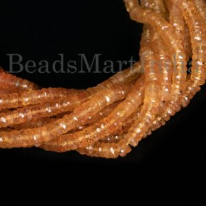 Shop Topaz Faceted Beads! Imperial Topaz Faceted Tyre Shape Gemstone Beads, Imperial Topaz Faceted Beads, Imperial Topaz Beads, Imperial Topaz Tyre Beads, Topaz Beads | Natural genuine faceted Topaz beads for beading and jewelry making.  #jewelry #beads #beadedjewelry #diyjewelry #jewelrymaking #beadstore #beading #affiliate #ad