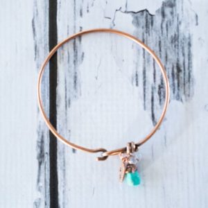 Shop Turquoise Bracelets! Turquoise crystal bracelet | Turquoise crystal bangle | Raw crystal bracelet | Bangle bracelet | Copper crystal bracelet | Natural genuine Turquoise bracelets. Buy crystal jewelry, handmade handcrafted artisan jewelry for women.  Unique handmade gift ideas. #jewelry #beadedbracelets #beadedjewelry #gift #shopping #handmadejewelry #fashion #style #product #bracelets #affiliate #ad